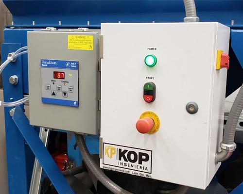 equipo filtrado de aire